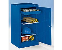 Werkzeugschrank - mit 1 Schublade, 2 Fachböden, Höhenverstellraster 40 mm