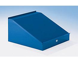 Schreibpult für Schrankbreite 500 mm - HxBxT 95 / 275 x 495 x 495 mm - blaugrau RAL 7031