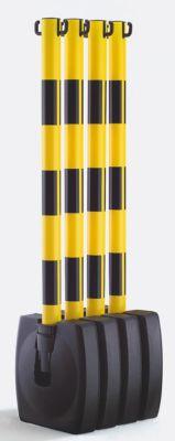 Ketten-Warnständer-Set, klappbar - Pfostenhöhe 900 mm