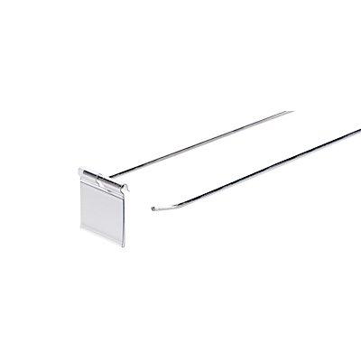 PE-Tasche für Pendeletiketten - VE 50 Stk, BxH 52 x 39 mm