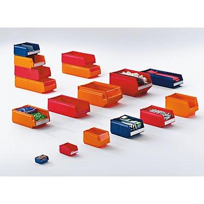 Sichtlagerkasten aus Polypropylen - LxBxH 96 x 105 x 45 mm, VE 20 Stück