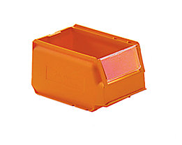 Visière rabattable pour bac à bec - lot de 10 - pour largeur x hauteur 105 x 75 mm