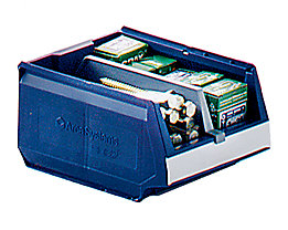 Längsteiler für Sichtlagerkasten - VE 10 Stück - für LxBxH 500 x 310 x 250 mm