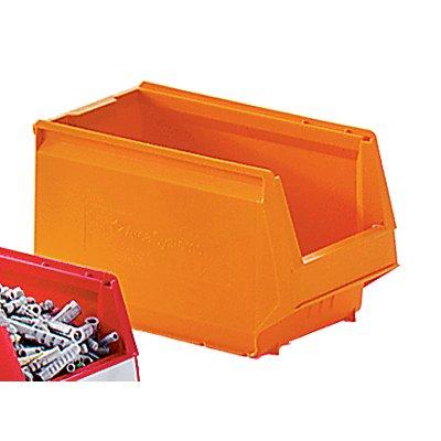 Sichtlagerkasten aus Polypropylen - LxBxH 350 x 206 x 200 mm, VE 8 Stück