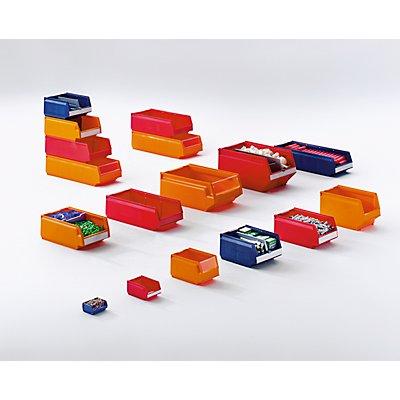 Sichtlagerkasten aus Polypropylen - LxBxH 500 x 230 x 150 mm, VE 15 Stück