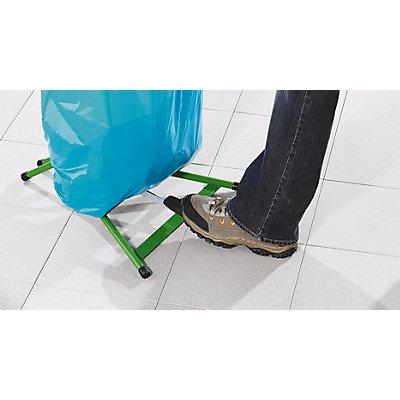 Abfallsackhalter für 120-l-Sack - Pedal-Standgestell