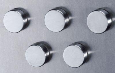 Edelstahlmagnet - Ø 24 mm - VE 36 Stück