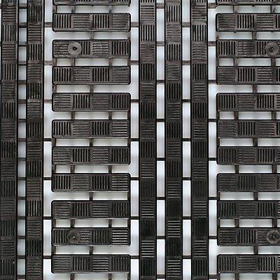 COBA Kunststoff-Bodenrost aus Polyethylen - LxB 1200 x 600 mm, VE 5 Stück