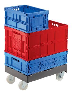 Rollwagen - mit 2 Lenk- und 2 Bockrollen