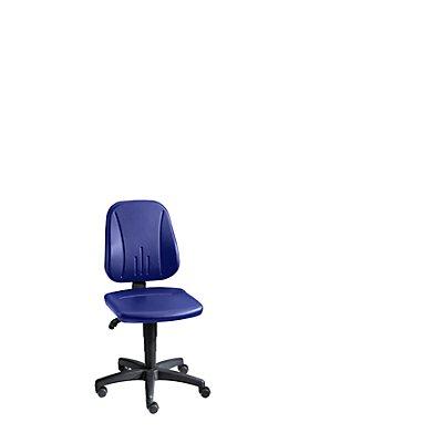 bimos Arbeitsdrehstuhl mit Gasfeder-Höhenverstellung - Kunstlederbezug