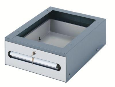 Arbeitsplatz-System, Tisch-Unterbau - Schubladen-Hängeblock -