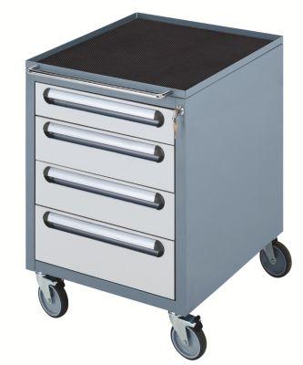 Arbeitsplatz-System, Tisch-Unterbau - Schubladen-Fahrschrank -