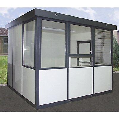 Fenster für Mehrzweckhaus - Schiebefenster, seitlich - HxB 1400 x 1000 mm