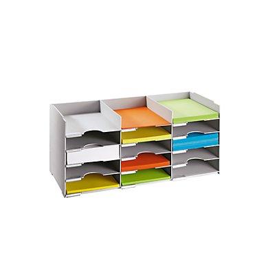 Sortierelement - 15 Fächer DIN A4 - HxBxT 313 x 674 x 304 mm