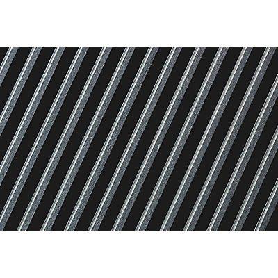 Matte aus Naturgummi, isolierend - Breite 1000 mm, Rolle à 10 m - grau