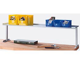Ablagebord - aus Metall - Werkbankbreite 2000 mm