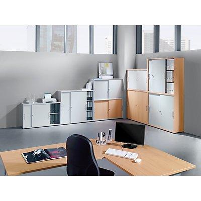 Hammerbacher FINO Büroregal - 2 Fachböden, Breite 800 mm