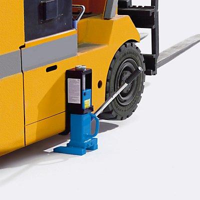 Maschinenheber mit Spindelgewinde - Tragfähigkeit 10,0 t - hydraulisch