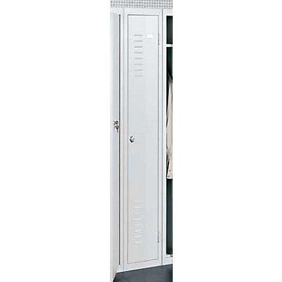QUIPO Stahlspind, für Vorhängeschloss - 1 Abteil, Breite 300 mm