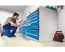 EUROKRAFT Schubladenschrank - HxBxT 850 x 564 x 572 mm