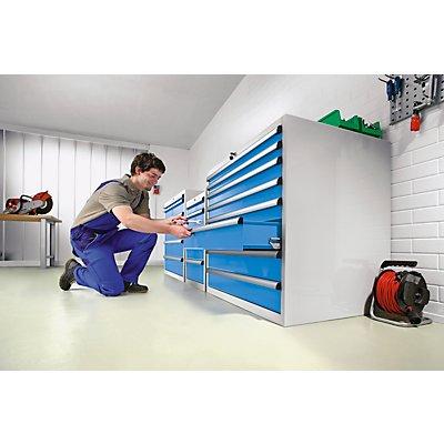 EUROKRAFT Schubladenschrank - HxBxT 1000 x 1023 x 725 mm