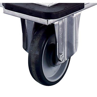 Rieber Edelstahl-Plattformwagen - Tragfähigkeit 350 kg