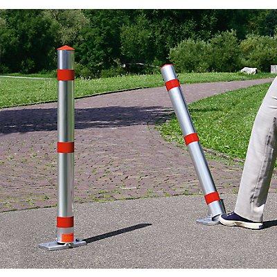 URBANUS Sperrpfosten, Alu-Rundrohr, abschließbar - ohne Fußpedal