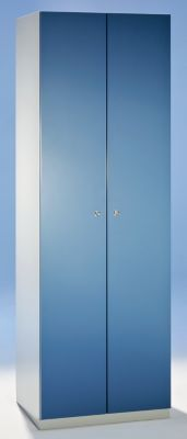 Wolf Stahlschrank - Breite 600 mm, 2 Garderoben