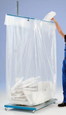 Großvolumen-Müllsackhalter - 500 l - 1-fach ohne Dach