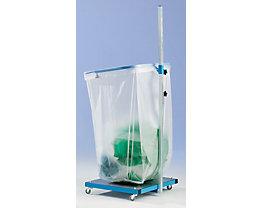 Support sacs-poubelle grande capacité - 200 – 300 l