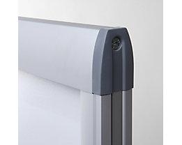 Plakatständer Windtalker EXCEL - doppelseitig, Aluminium-Rahmen