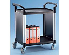 Allzweckwagen, mit Metallwänden - mit 2 Seitenwänden, 2 Etagen