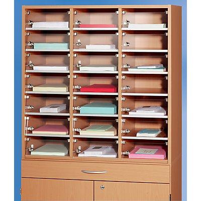 Fachtür für Posteinwurf - aus Acryl, BxH 270 x 95 mm