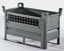 Heson Option Gitterwandklappe - für BxL 500 x 800 mm - Mehrpreis
