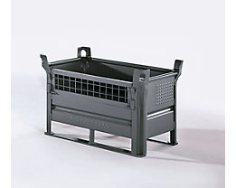 Option Gitterwandklappe - für BxL 1000 x 1200 mm - Mehrpreis