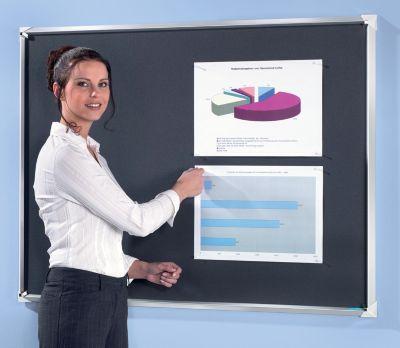 office akktiv Premium-Pinnwand - aus Korklinoleum
