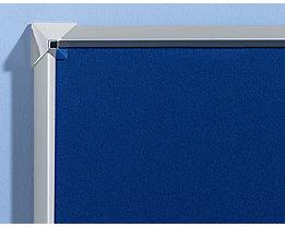 Premium-Pinnwand mit verchromten Ecken bei Certeo