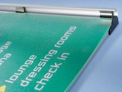 Infotafel - Rahmen aus Aluminium-Profil