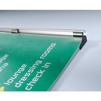 Jansen Display Infotafel - Rahmen aus Aluminium-Profil