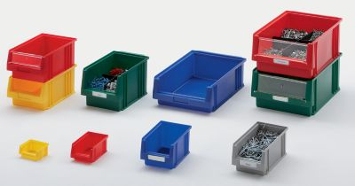 Sichtlagerkasten aus Polypropylen - Inhalt 0,7 l, VE 25 Stk