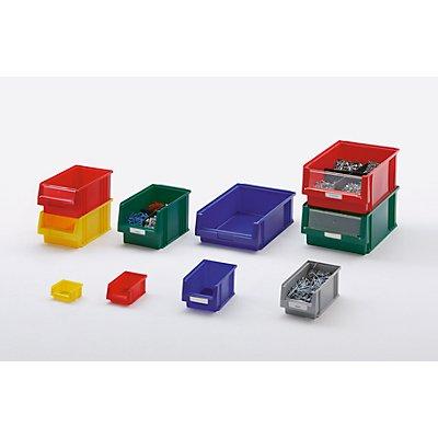 Sichtlagerkasten aus Polypropylen - Inhalt 22,5 l, VE 8 Stk