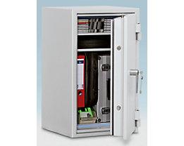 Coffre ignifuge pour papier à parois multiples - classe de sécurité B, protection anti-feu S 60 P, l x p 463 x 427 mm