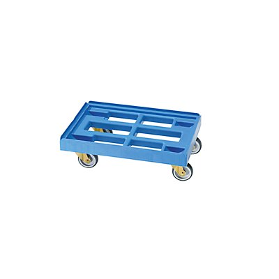 Transportroller - Ladefläche 600 x 400 mm - Tragfähigkeit 300 kg