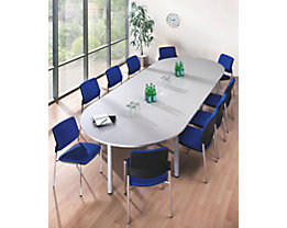 office akktiv Table de conférence - plateau rectangulaire