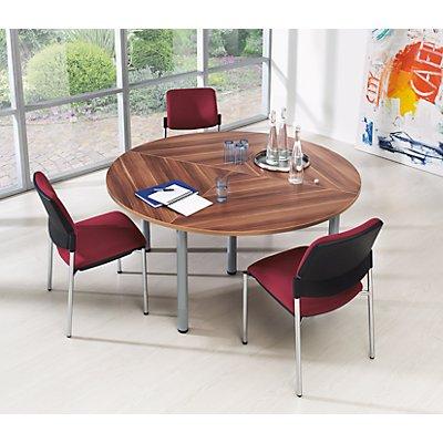 HAMMERBACHER Konferenztisch - Viertelkreisplatte