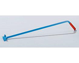 Einhängedeichsel - aus Stahlrohr - mit Kunststoffgriff