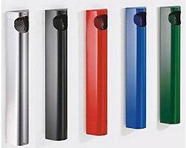 Wandascher, Stahlblech verzinkt und pulverbeschichtet - HxBxT 550 x 110 x 74 mm