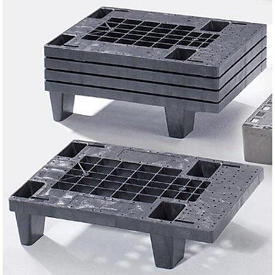 KIGA Display-Palette aus Kunststoff - LxB 600 x 400 mm, Traglast statisch 500 kg