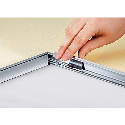 Premium-Klapprahmen - Aluminiumprofil, VE 2 Stk