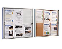 office akktiv Infokasten für Innen - Metallrückwand